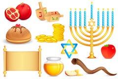 犹太圣洁对象 皇族释放例证