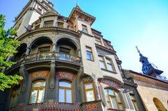 犹太处所在布拉格 免版税库存图片
