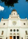 犹太教堂在匈牙利 免版税库存照片