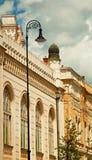 犹太教堂在匈牙利 免版税图库摄影