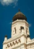 犹太教堂在匈牙利 库存图片
