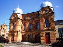 犹太教堂在基洛沃格勒 免版税库存图片