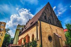 犹太教堂在布拉格 免版税图库摄影