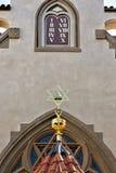 犹太教堂在布拉格 库存照片