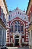 犹太教堂在布拉索夫,特兰西瓦尼亚 库存图片