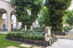 犹太教堂在布达佩斯 免版税图库摄影