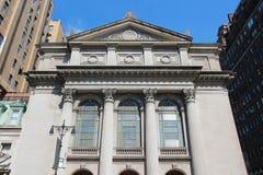 犹太教堂在纽约 库存照片