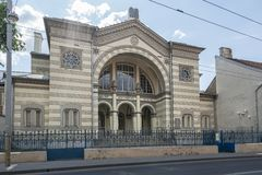 犹太教堂在维尔纽斯 免版税库存照片