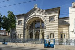 犹太教堂在维尔纽斯 免版税库存图片