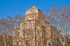 犹太教堂在罗马 免版税库存照片