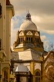 犹太教堂在诺维萨德的中心 库存图片