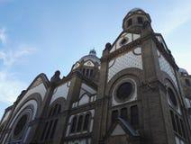 犹太教堂在诺维萨德,塞尔维亚 免版税库存图片