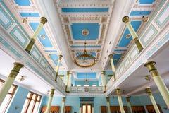 犹太教堂在里加 免版税图库摄影