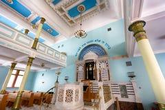 犹太教堂在里加 库存照片