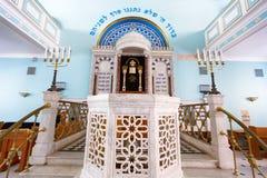 犹太教堂在里加 免版税库存照片