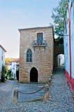 犹太教堂在Obidos 免版税库存照片