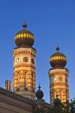 犹太教堂塔 免版税库存图片