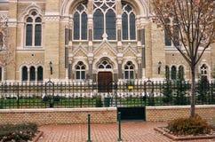 犹太教堂塞格德入口  免版税库存图片