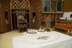 犹太教堂犹太摩西五经研究 免版税库存照片