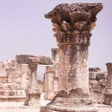 犹太教堂的废墟 免版税库存图片