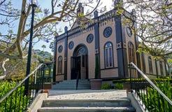 犹太教堂的看法在圣迭戈 图库摄影