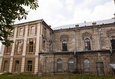 犹太教堂的整修 免版税库存图片