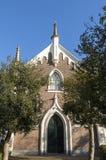 犹太教堂,城市屈伦博赫正面  图库摄影