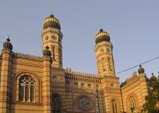 犹太教堂,布达佩斯 免版税库存图片