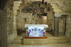 犹太教堂,以色列 免版税库存图片