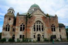 犹太教堂, Lucenec,斯洛伐克 免版税库存照片