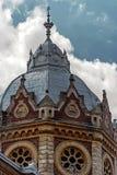 犹太教堂3的门面 图库摄影