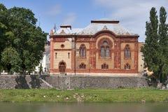 犹太教堂uzhorod 免版税图库摄影