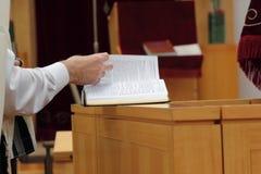 犹太教教士启用页 免版税库存图片