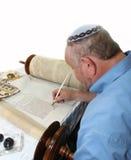 犹太教torah 免版税图库摄影
