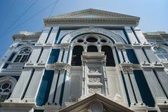 犹太犹太教堂在孟买在印度 免版税库存照片