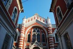 犹太犹太教堂在布拉索夫 免版税库存图片