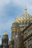 犹太犹太教堂柏林 图库摄影