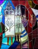 犹太犹太教文化假日torah tova menora 库存照片
