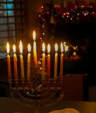 犹太的圣诞节 免版税图库摄影