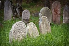 犹太的墓地 库存照片