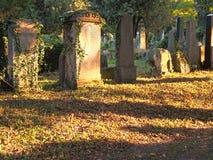 犹太的墓地 免版税库存照片
