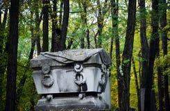 犹太的墓地 库存图片