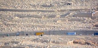 犹太的墓地 图库摄影