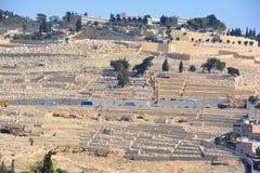 犹太的墓地 免版税库存图片