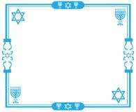 犹太的框架 库存图片