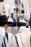 犹太祈祷 库存照片