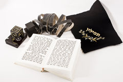 犹太祈祷 免版税图库摄影