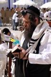 犹太祷告 图库摄影