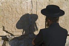 犹太祷告 库存照片