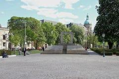 犹太纪念汉诺威 免版税库存照片